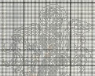Schemi Per Il Filet Copertina Con Angelo Paperblog