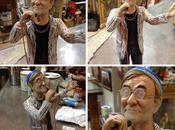 Napoli celebra Lucio Dalla statuette Gregorio Armeno