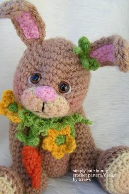 Idee per la pasqua coniglietti ad uncinetto paperblog for Idee creative uncinetto