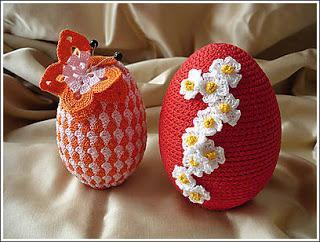 Idee per la pasqua le uova ad uncinetto paperblog - Idee per decorare le uova di pasqua ...