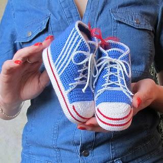 Idee per scarpine da neonato ad uncinetto