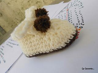 Idee Per Scarpine Da Neonato Ad Uncinetto Paperblog