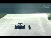Clamoroso! Barcellona Massa Ferrari perde ruota.