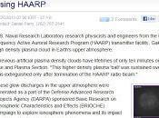 sito della marina militare leggiamo nubi plasma create sistema antennistico HAARP