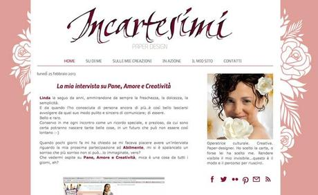 blog design: incartesimi