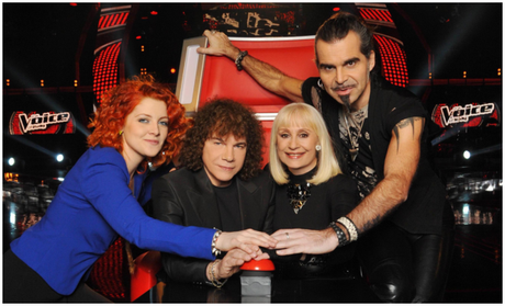 I quattro coach di The Voice of Italy
