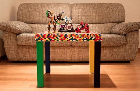 Tavolo Lego di Artisign Explosion