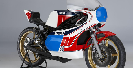 The ex-Takazumi Katayama, World Championship-winning 1977 Yamaha YSK3 'Sankito' 350cc Racing Motorcycle