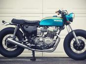 Custom Honda CB750 vintage Shinko tyres