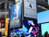 Times Square inizia prepararsi l'evento dedicato Samsung Galaxy