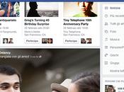 Mark Zuckerberg presenta nuova grafica Facebook