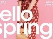 dolce floreale Diane Kruger scelta cover Flare Magazine
