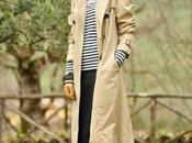#rubRiga. marinière meets classic trench coat.