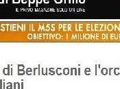 """Beppe Grillo ricovero Berlusconi: paura fare fine Craxi"""""""
