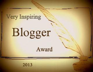 PREMIO Very Inspiring Blogger Award 2013