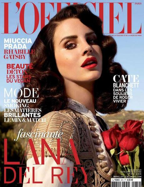 L'OFFICIEL Paris \\ Lana Del Rey by Nicole Nodland \\ April 2013