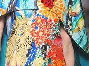 Stampe, patterns effetti superficie dalla settimana della moda parigi