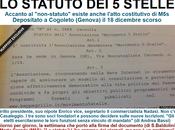 """MòViMento nuovo: """"Non-Statuto"""" cazzi. Statusto esiste, comandano Beppe Grillo, commercialista, nipotino Enrico"""