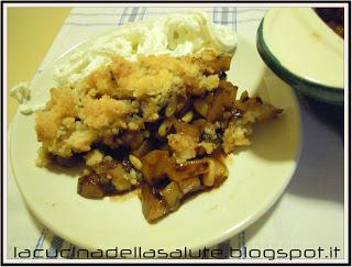 Rifatte senza glutine: Apple pear crisp