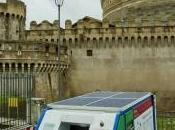 Roma, rifiuti compattati grazie all'energia solare