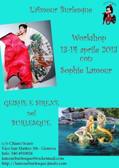Workshop Geisha e Sirena con Sophie Lamour