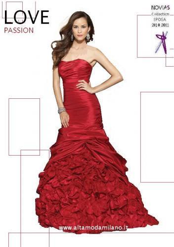 36301bb29135 Abiti da cerimonia ROSSI un MUST per il capodanno ma anche per l abito da  sposa rosso