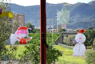 Addobbo natalizio per la scuola paperblog - Addobbi finestre natale scuola primaria ...