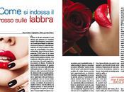 Come indossa rossetto rosso wear lipstick