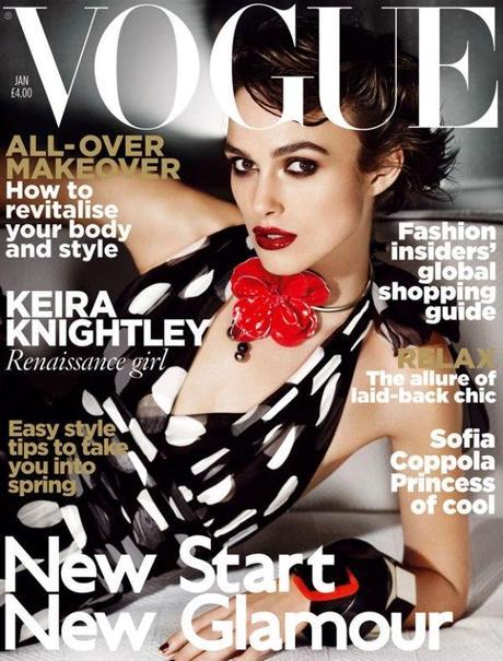 Keira Knightley X Vogue Uk Gennaio 2011