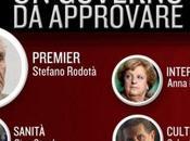 governo Santoro Beppe Grillo Movimento Stelle.