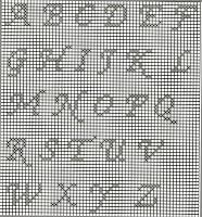 Schemi Filet Un Cuore Con Il Suo Nome Paperblog