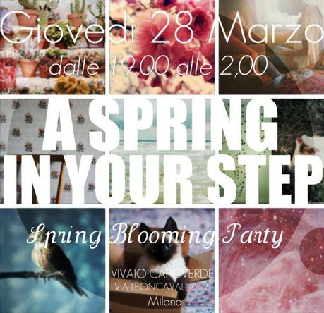 A spring in your step party