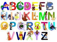 Schema punto croce alfabeti e numeri a punto scritto - Immagini di animali dello zoo per bambini ...