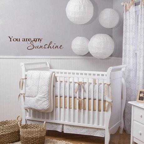 Decorazioni a muro per la cameretta dei bimbi paperblog for Idee pareti cameretta neonato