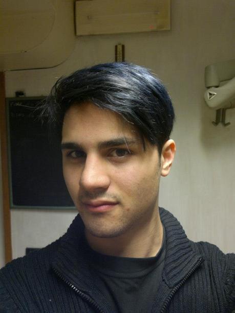 Tinta Capelli Viola Uomo   Tinta capelli blu cobalto colore uomo il mio  nuovo 83aa954bc76d