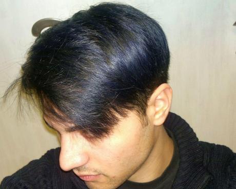 TINTA CAPELLI BLU COBALTO , COLORE UOMO , il mio nuovo colore dip dye LOL!