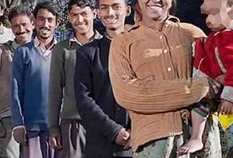 Indiano, donna sposata di 5 fratelli