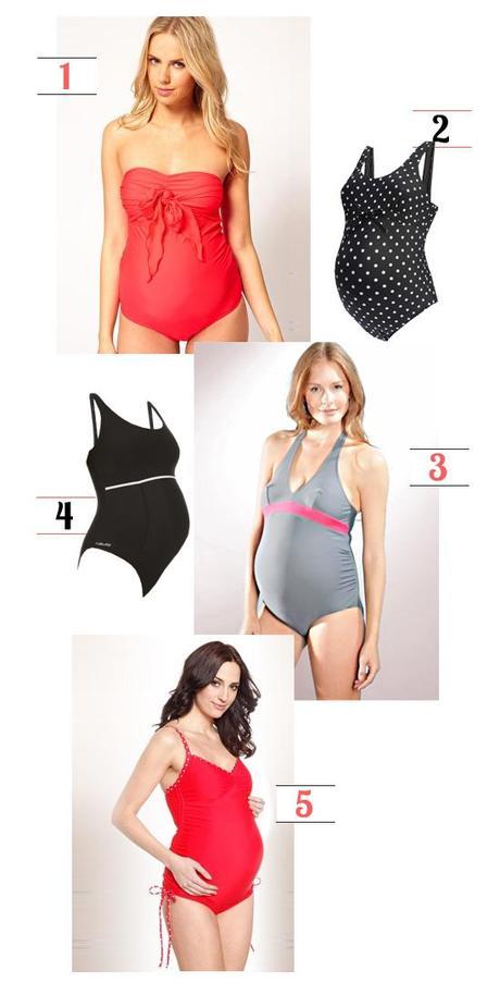 Costumi premaman per corsi di acquagym in gravidanza paperblog - Costumi da piscina ...