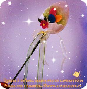 Lavoretti Creativi Con I Bambini La Bacchetta Di Pasqua Paperblog