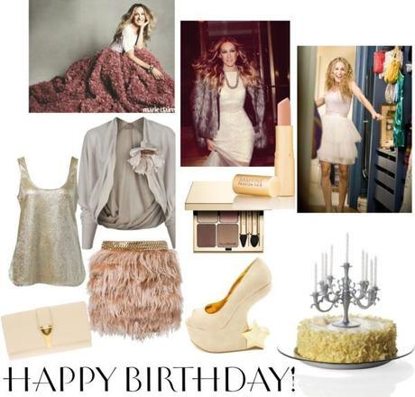 Birthday party SJP style