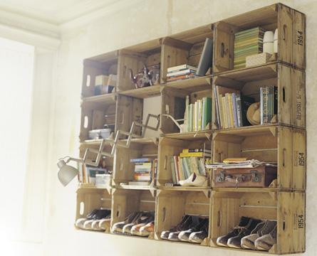 Arredamento Legno Riciclato: Pareti in legno riciclato triseb ...