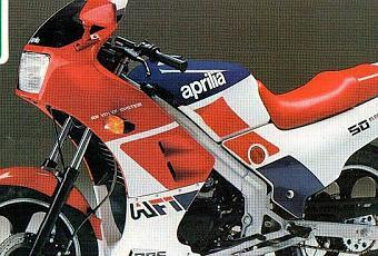 Vintage Brochures Aprilia Af1 50 1986 Italy Paperblog