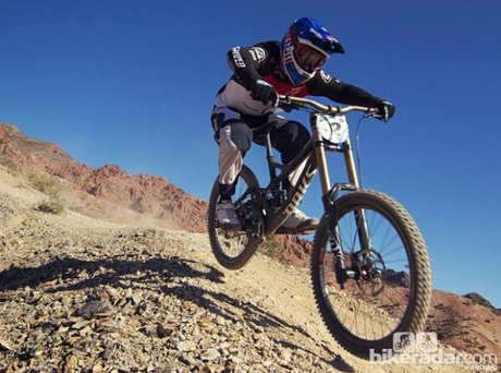 Specialized demo 8, quella di aaron gwin