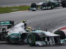 Wolff elogia comportamento Rosberg Malesia