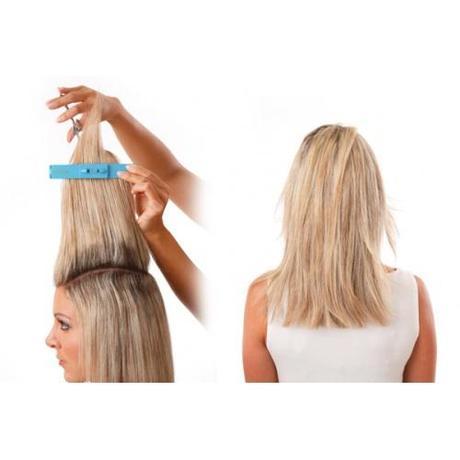 Tagli capelli medi scalati fai da te