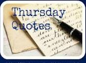 Thursday Quotes Romanzi