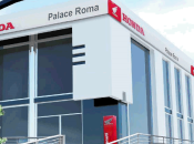 Apre Roma concessionario Honda grande d'Italia, inaugurazione piloti Haslam