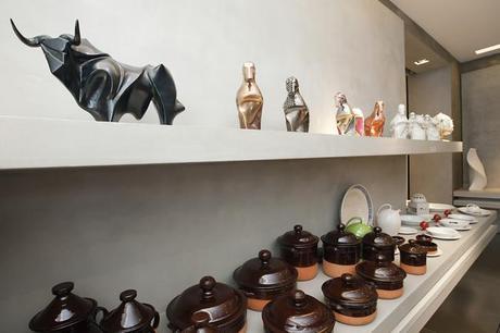 Fuorisalone – Salone del Mobile Milano 2013: PiattaForma collettiva di Vincenzo Del Monaco e Demis Martinelli – Volubilis Ceramiche