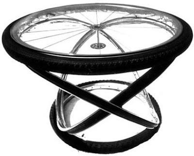 Bike design tavoli sedie e sgabelli creati con pezzi di - Pezzi di design ...