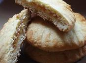 Cookies farina kamut marmellata mele.